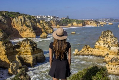 Algarve Coast, Lagos, Portugal Solo Female Travel