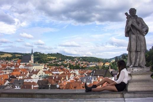 Cesky Krumlov fairytale town solo female travel Czech Republic