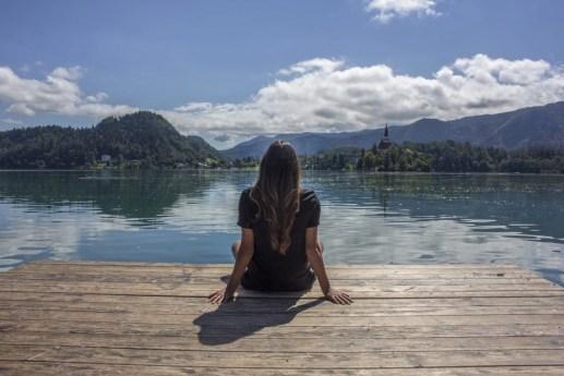 Lake Bled Slovenia Romantic Lake Solo Female Travel