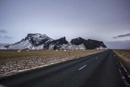 On the way to Vik Iceland Solo Female Travel Roadtrip Winter
