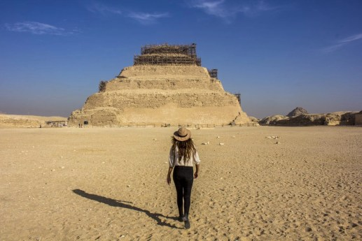 Pyramid of Djoser Step Pyramid Sakkura Travel Talk Tours Egypt Solo Female Travel