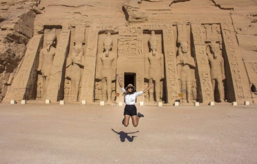 temple of Hathor and Nefertari the small abu simbel temple - Travel Talk Tours Solo female travel egypt