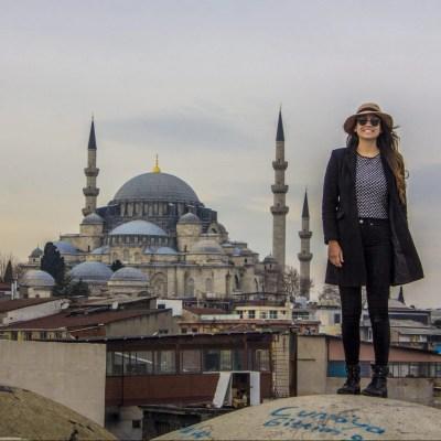 Masjid Biru Masjid Sultan Ahmed Istanbul Panduan perjalanan solo wanita Skyline