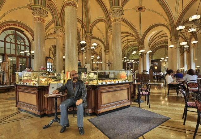 Vienna's famous coffee-houses