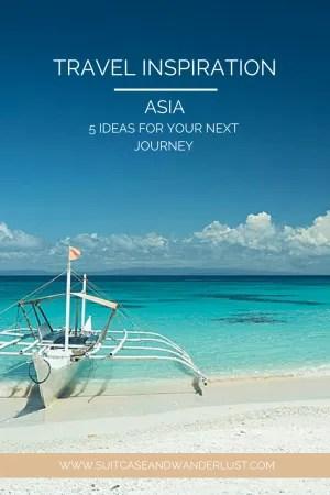 Travel inspiration Asia