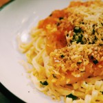 Pasta with Butter Parsley Tomato Sauce