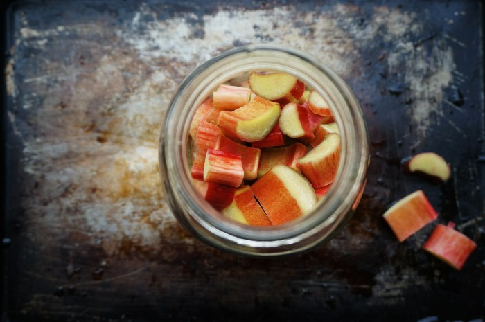 Rhubarb Shrub by Suitcase Foodist