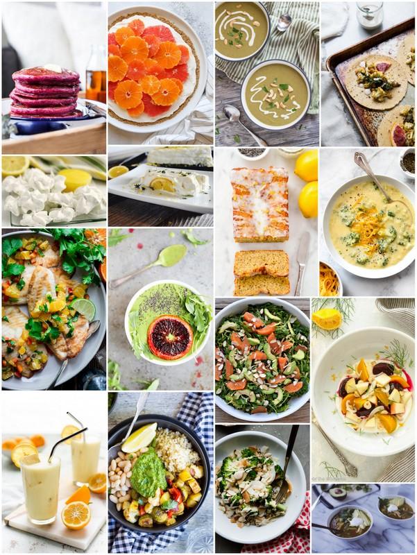 Eat Seasonal February 2017 Recipes