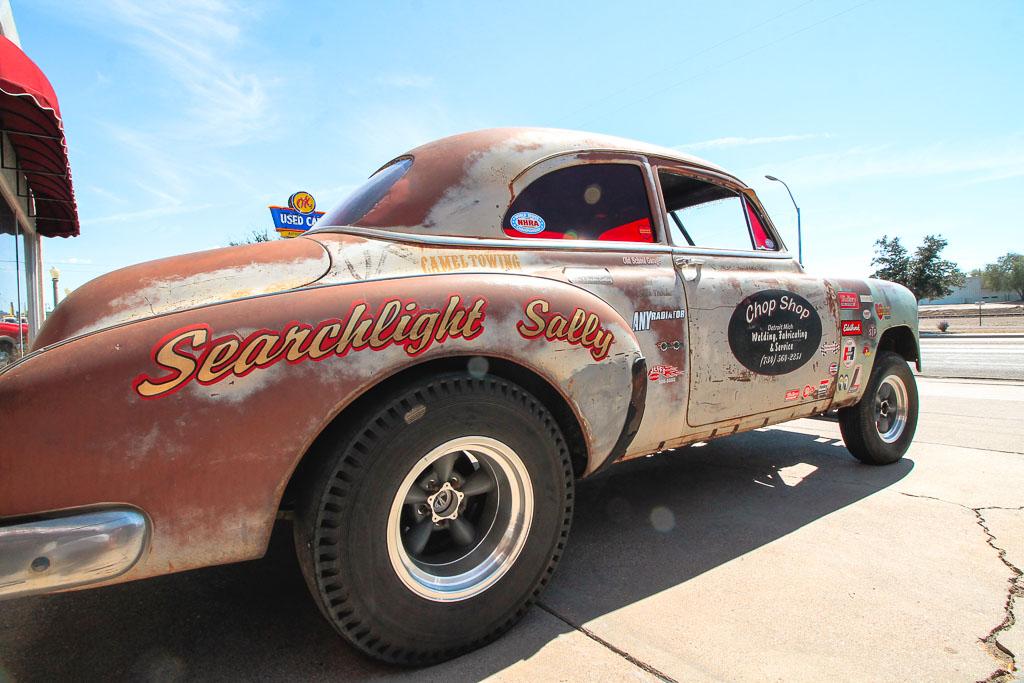 Car in Kingsmen - Route 66