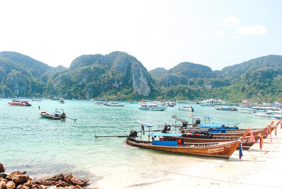 Koh Phi Phi Don - beach