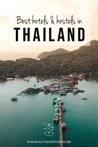best hotels and hostels in Thailand
