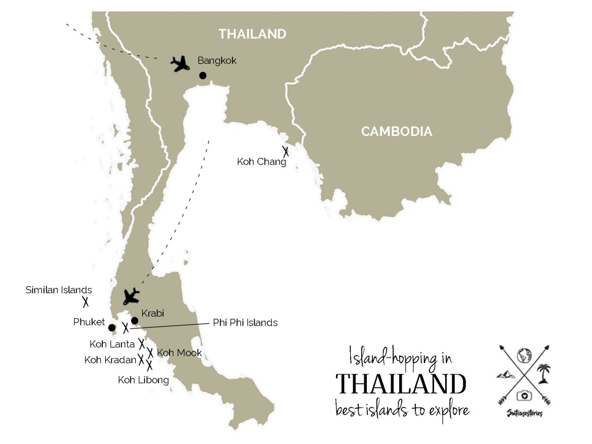 Island hopping in thailand the best islands to explore
