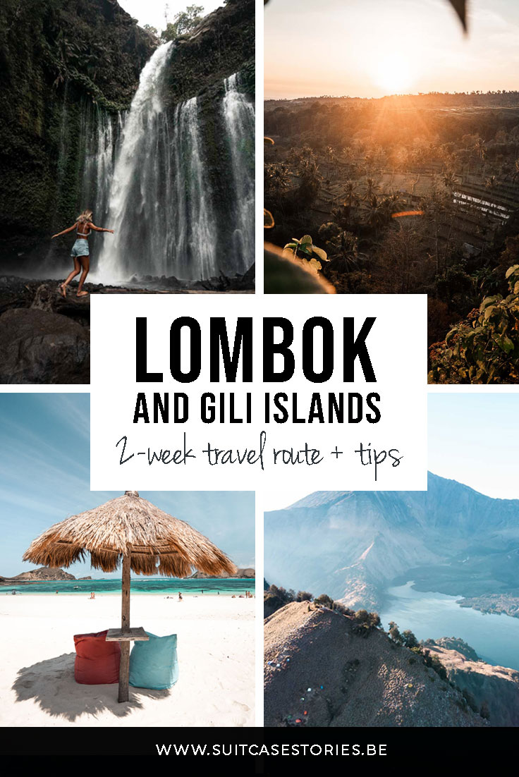 Lombok and Gili Islands in 2 weeks - travel route + tips
