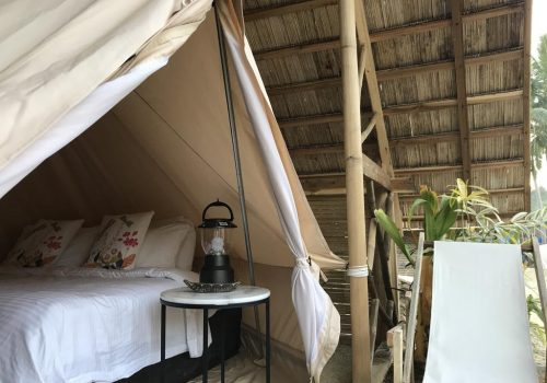 best places to stay in the Philippines - Balili Eco Glamping Port Barton