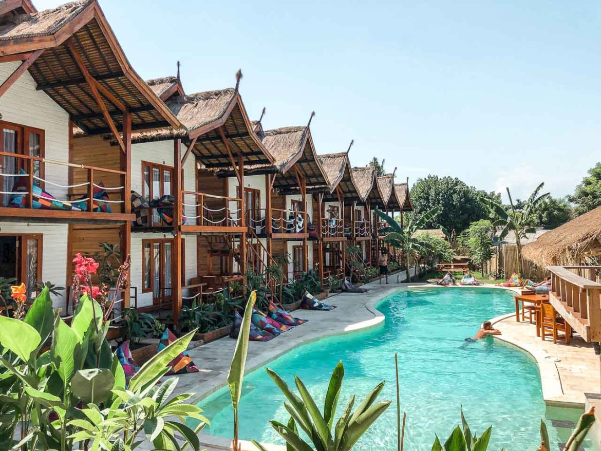 The best hotels in the Gili Islands