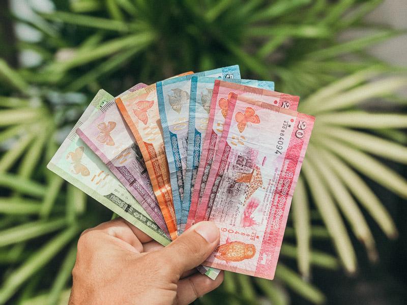 Travel budget for 3 weeks in Sri Lanka