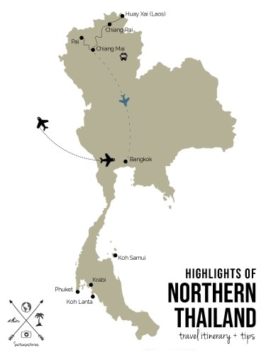 Highlights of Northern Thailand: itinerary + tips