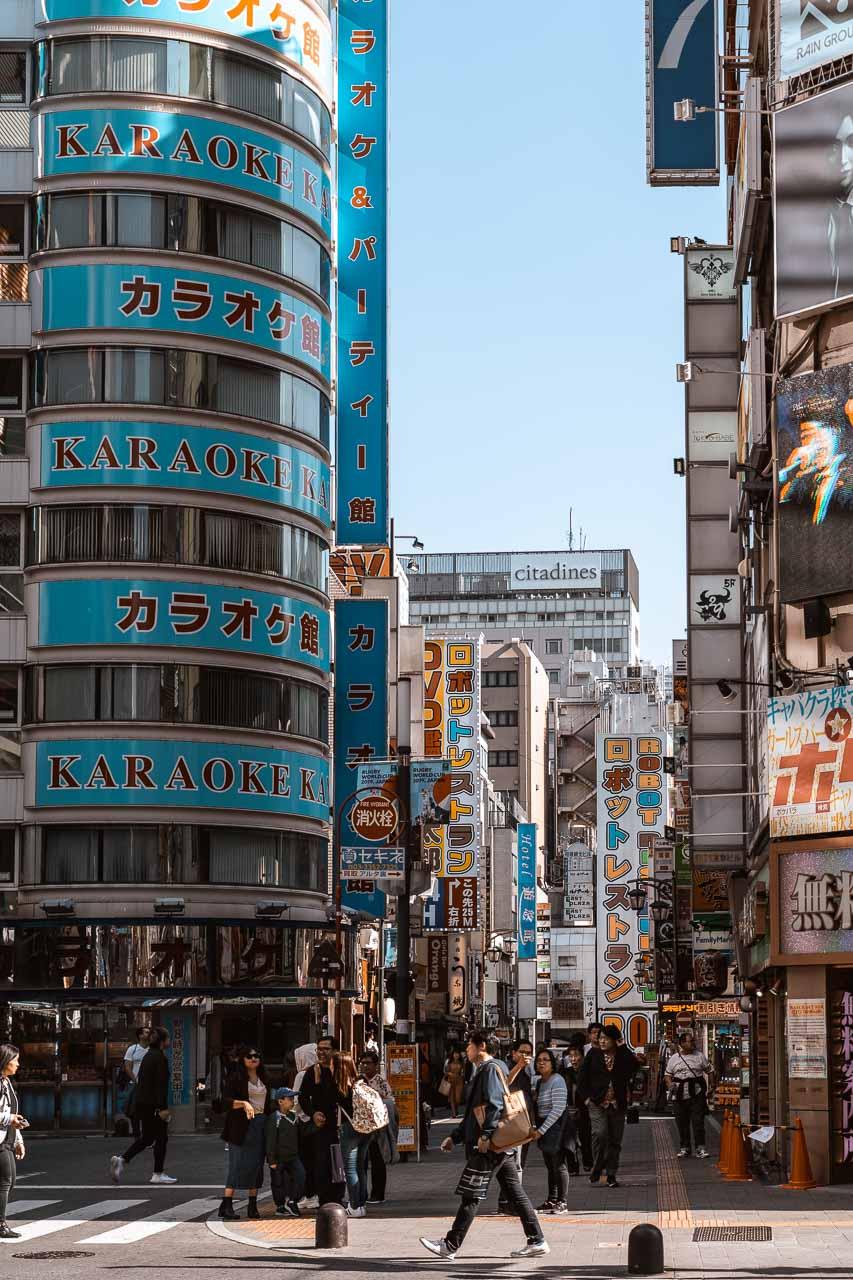 Kabukicho district