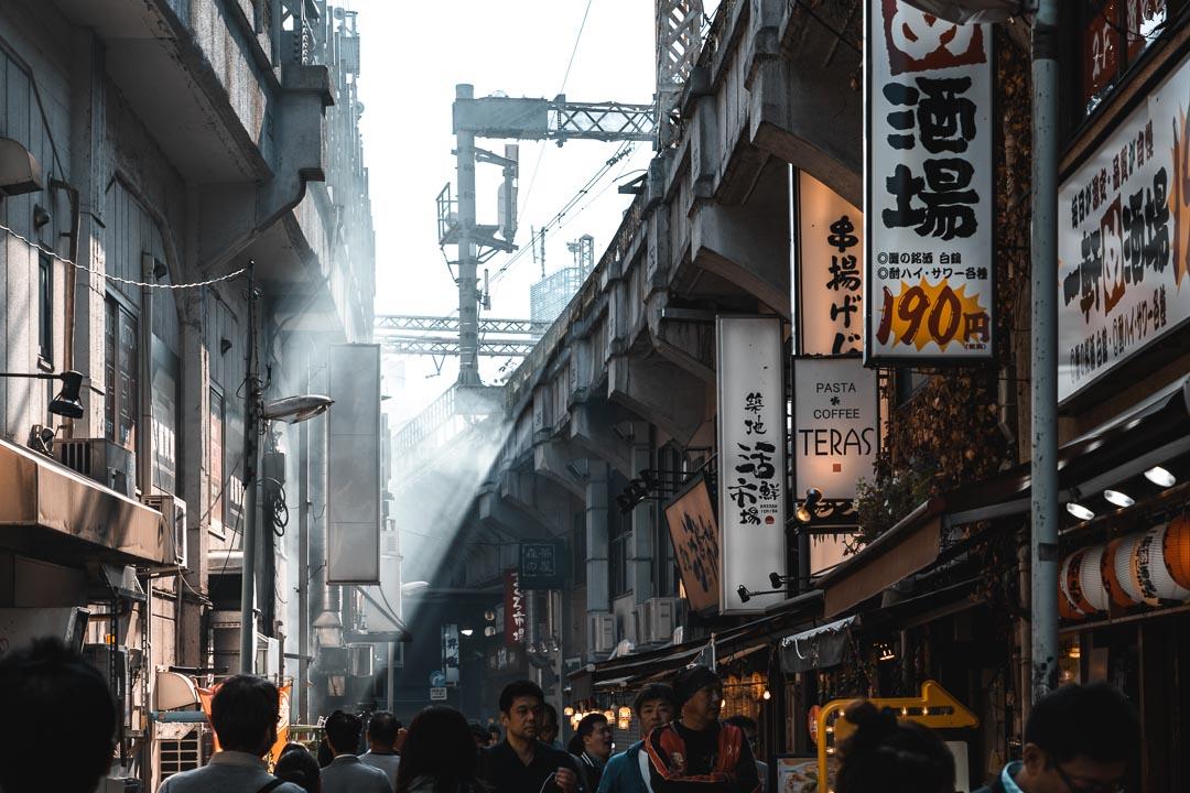 How to get around Tokyo - Ameya-Yokochō market Ueno Station