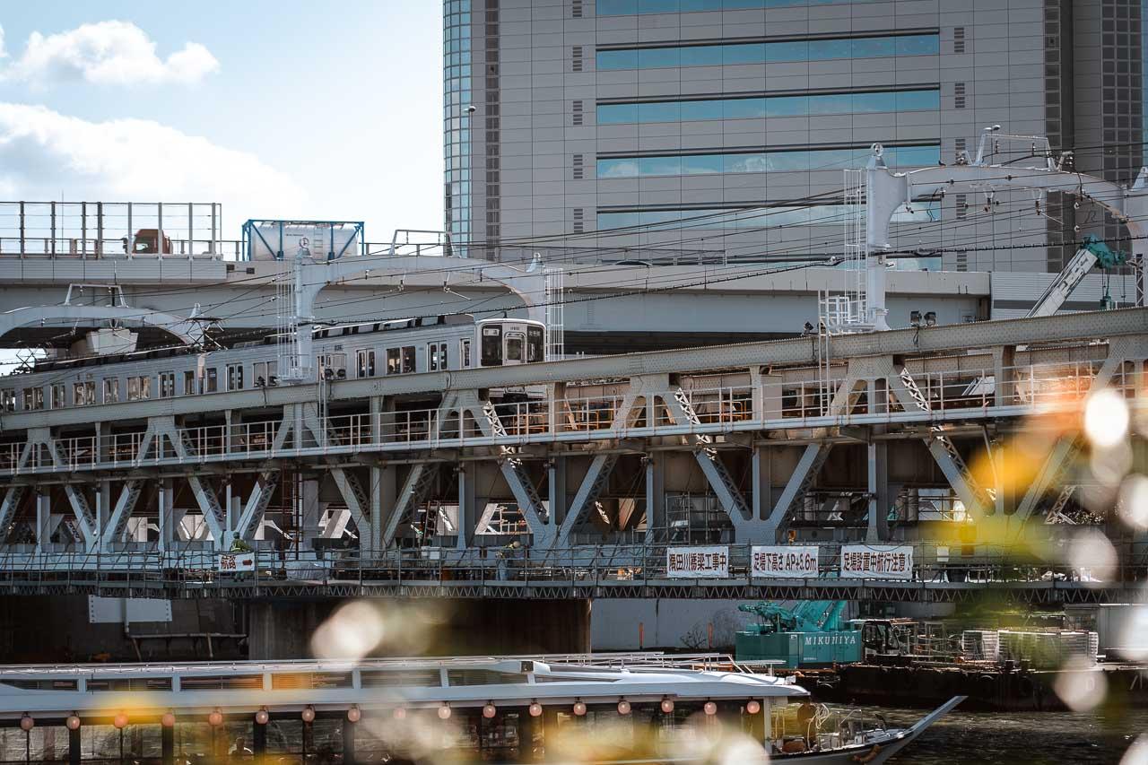 Tokyo Transport - train and subway
