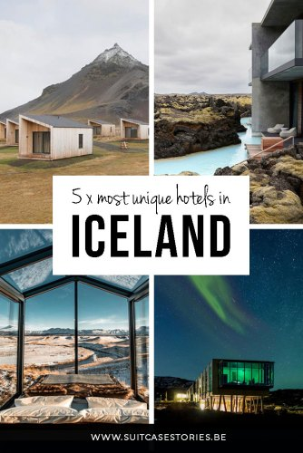 Our favorite 5 unique hotels in Iceland