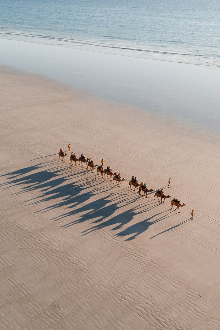 Broome Cable Beach Camel Train