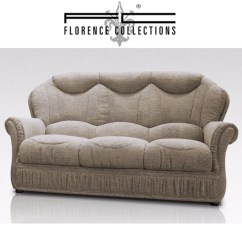 Sofa Bed World Uk Light Gray Modern Colleen Fabric 1