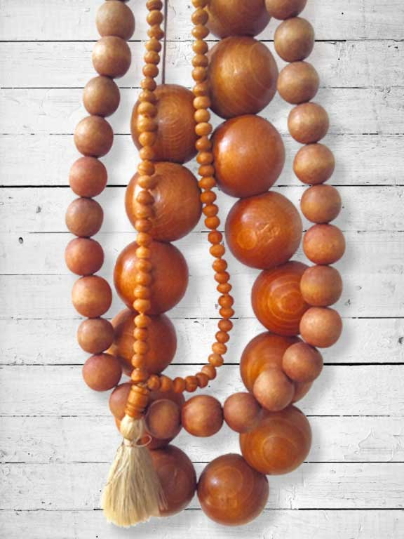 Thrifted Wooden Beads