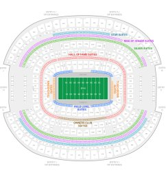 at t stadium dallas cowboys suite map and seating chart [ 2000 x 2000 Pixel ]