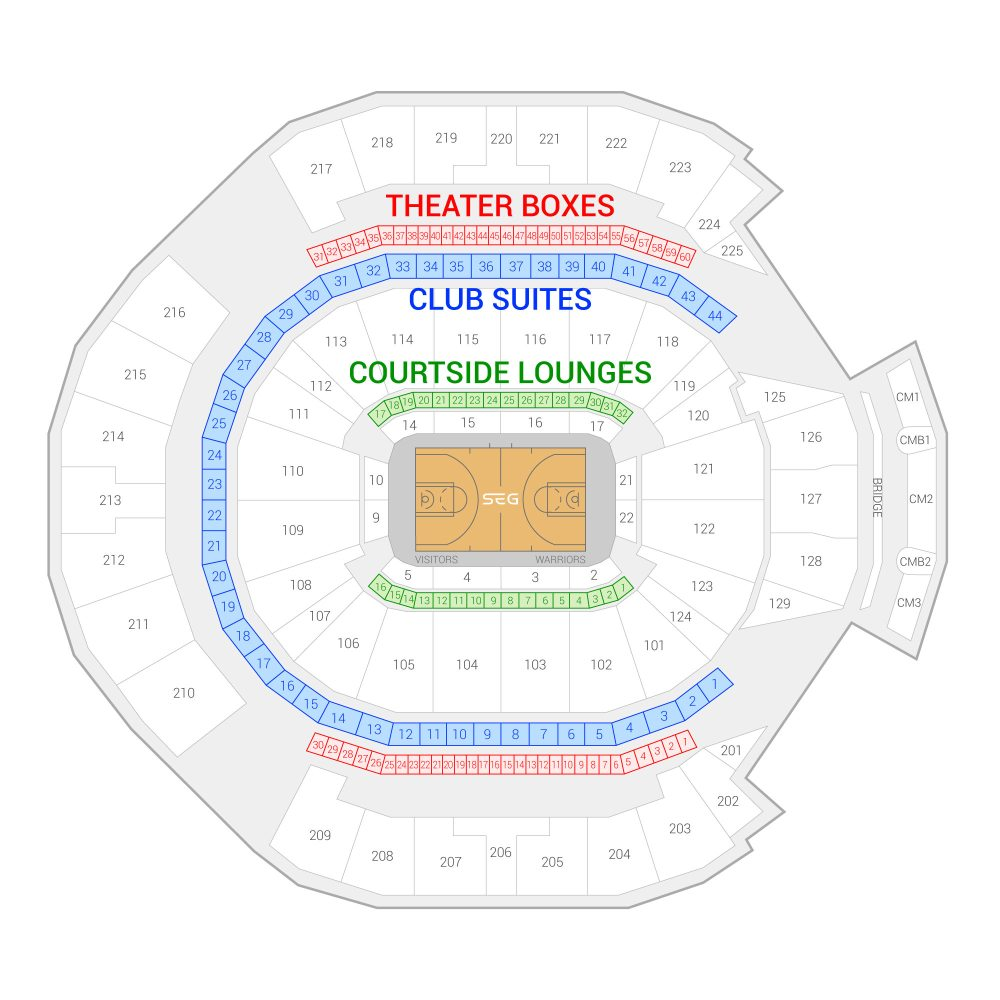 medium resolution of oracle arena suite map and seating chart