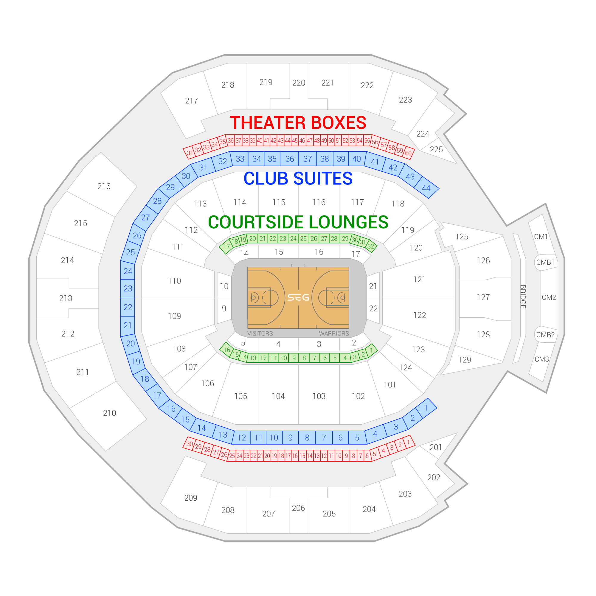 hight resolution of oracle arena suite map and seating chart