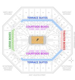 at t center san antonio spurs suite map and seating chart [ 2000 x 2000 Pixel ]