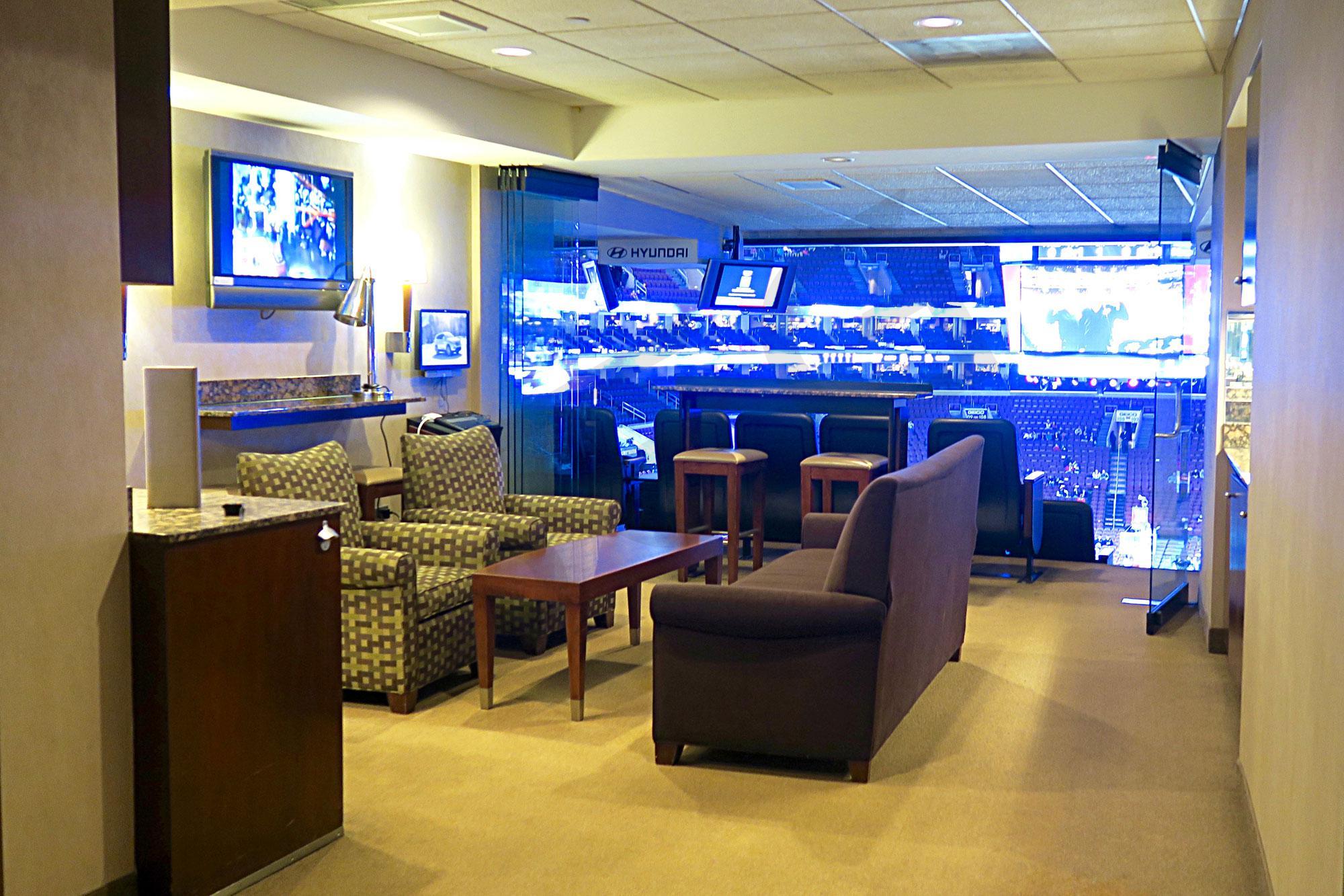 Wells Fargo Arena Suites