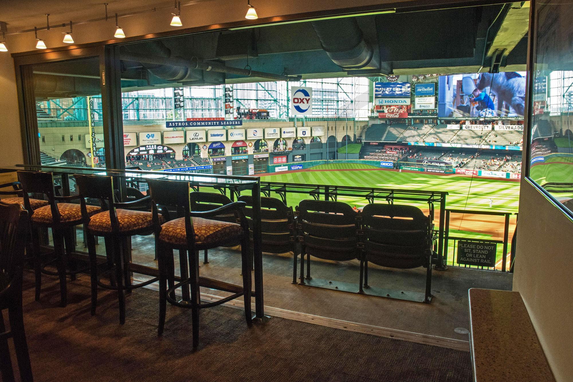 Houston Astros Suite Rentals Minute Maid Park