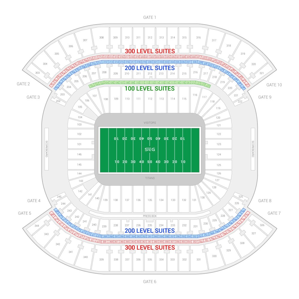 medium resolution of tennessee titans suite rentals nissan stadium diagram of lp field