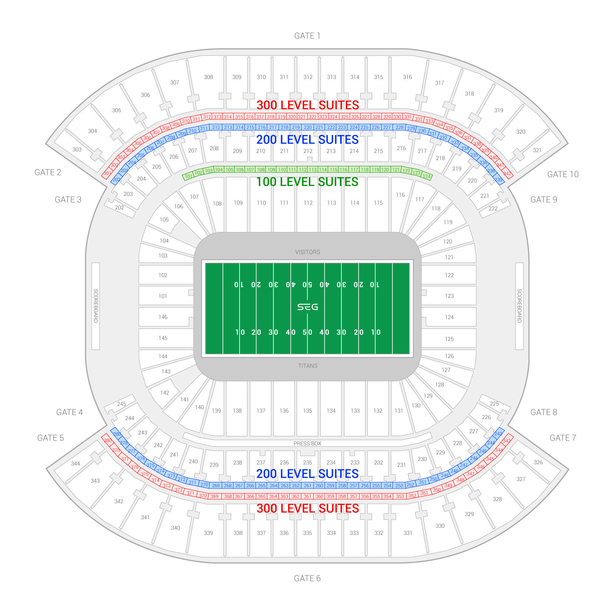 hight resolution of tennessee titans suite rentals nissan stadium diagram of lp field