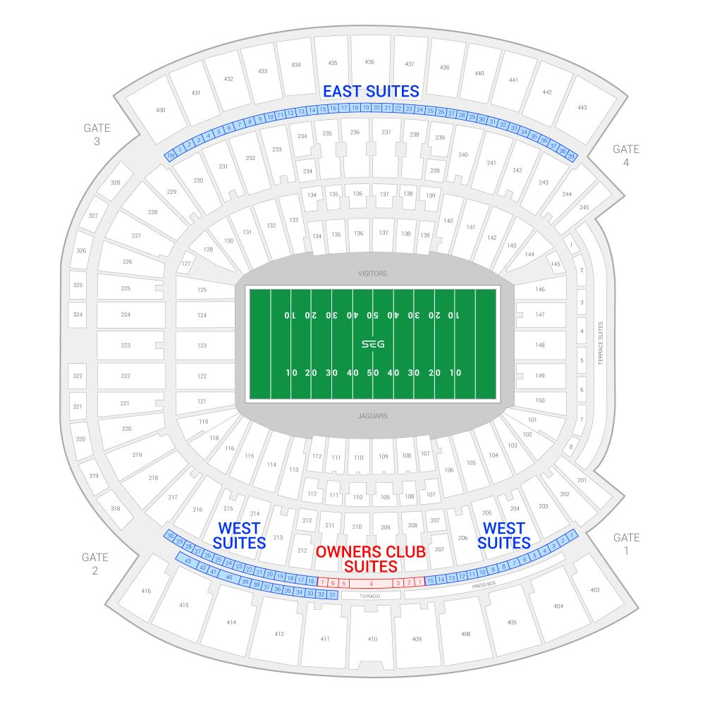 medium resolution of tiaa bank field jacksonville jaguars suite map and seating chart