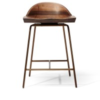 Spindle Bar Stool Low Back