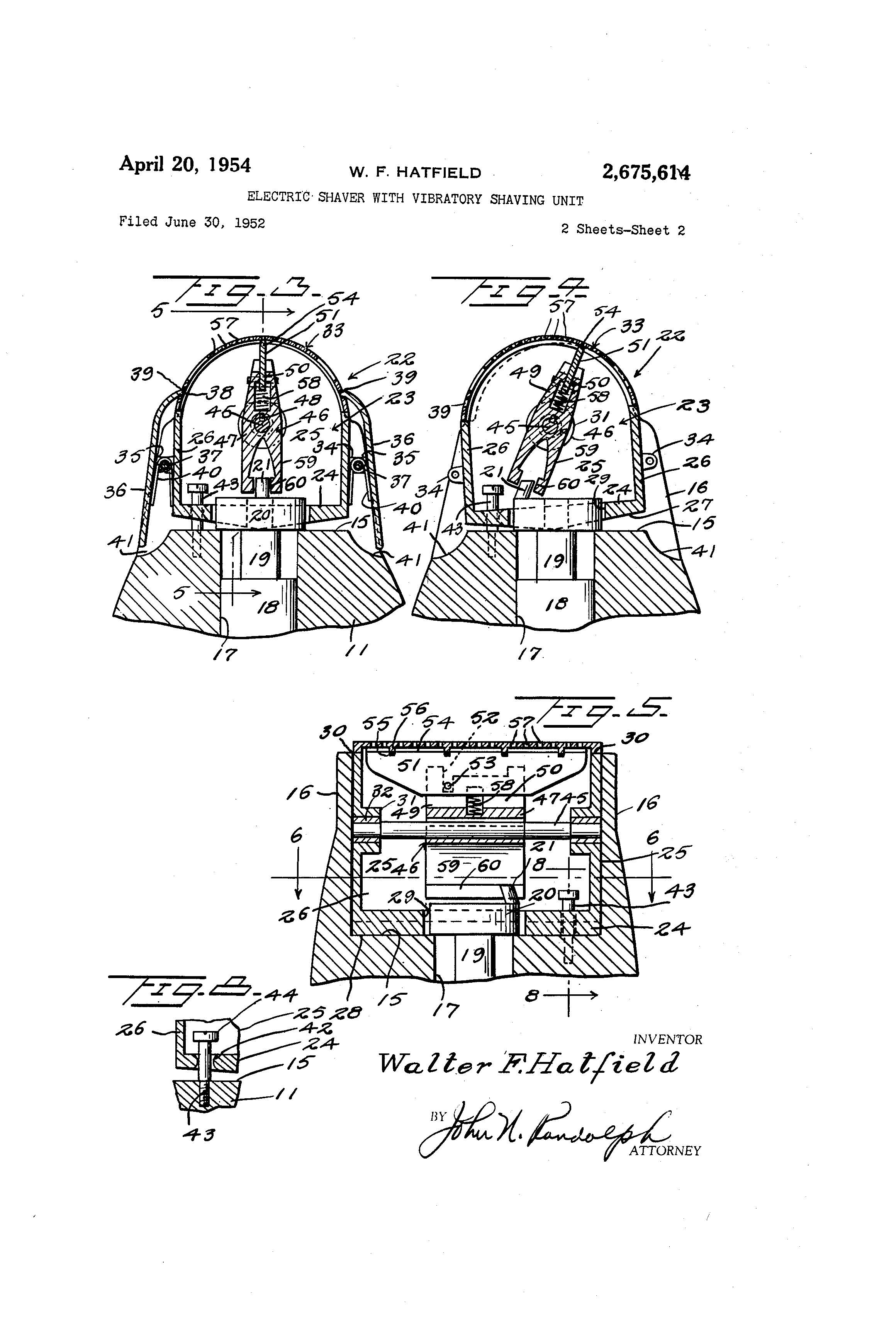 Patent Of The Day Electric Shaver Suiter Swantz