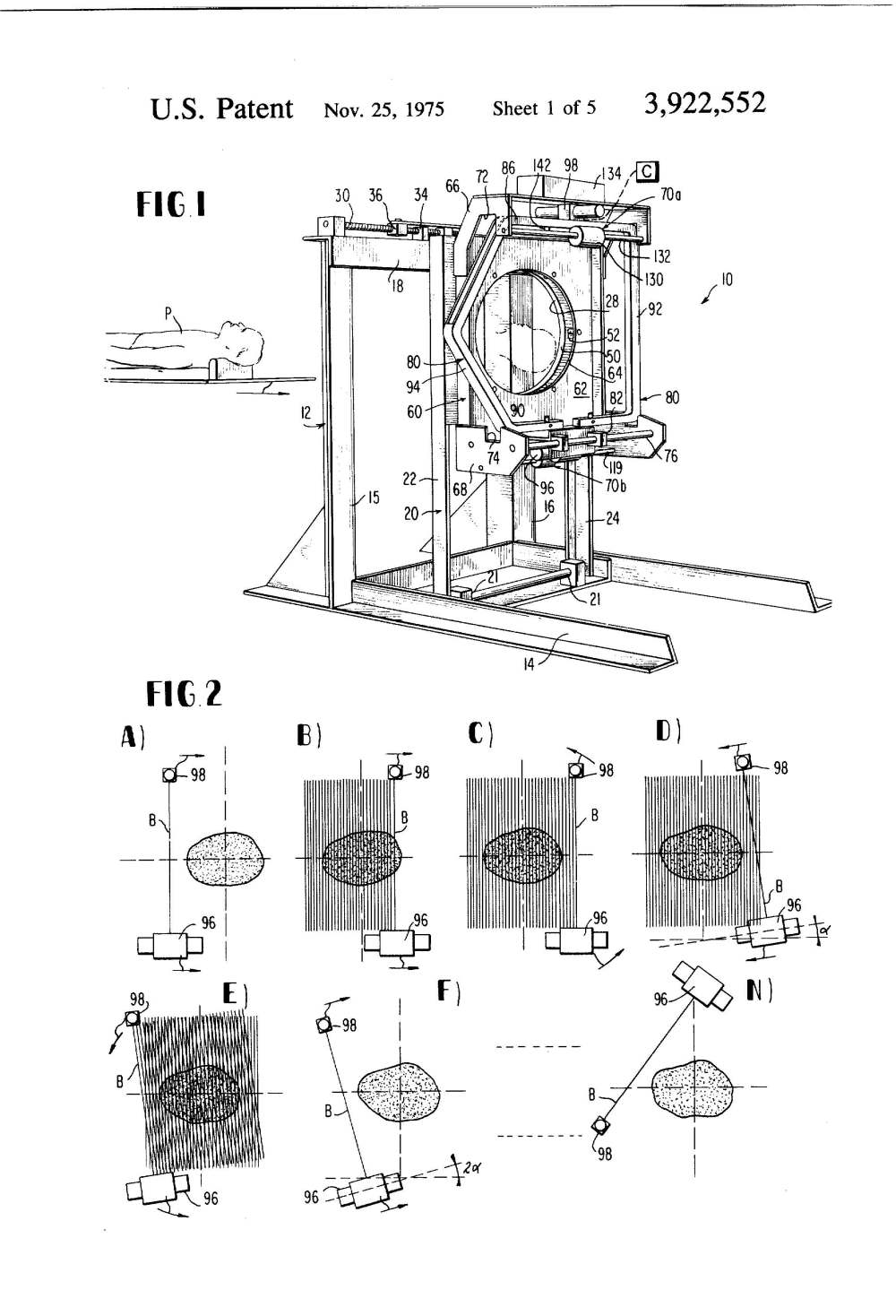 medium resolution of  patent illustration diagnostic x ray system page 2
