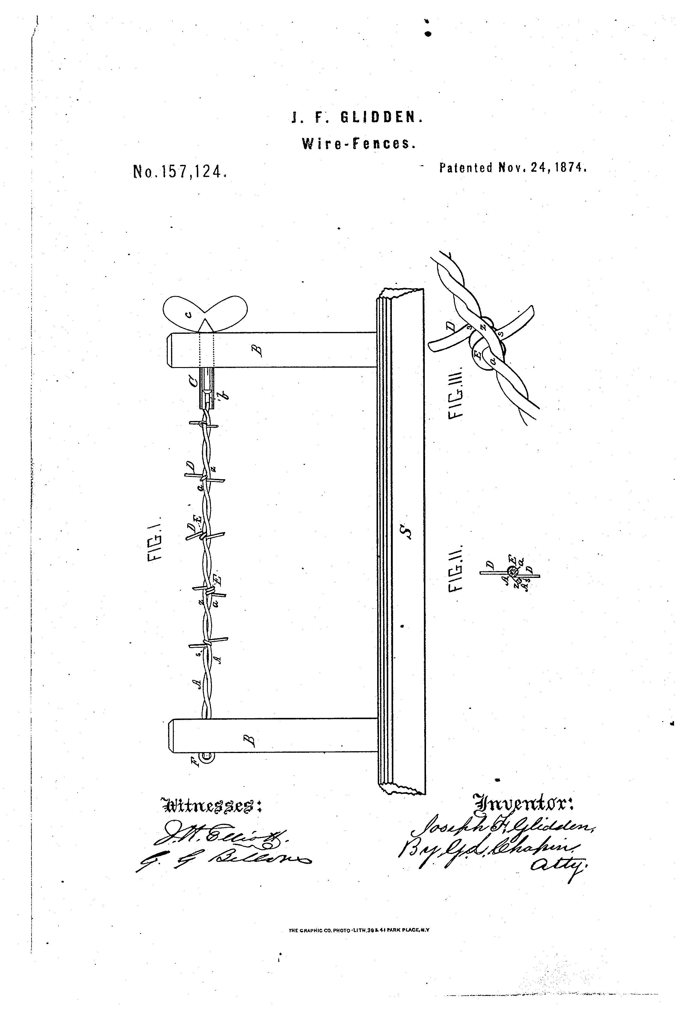 Patent Of The Day Wire Fences