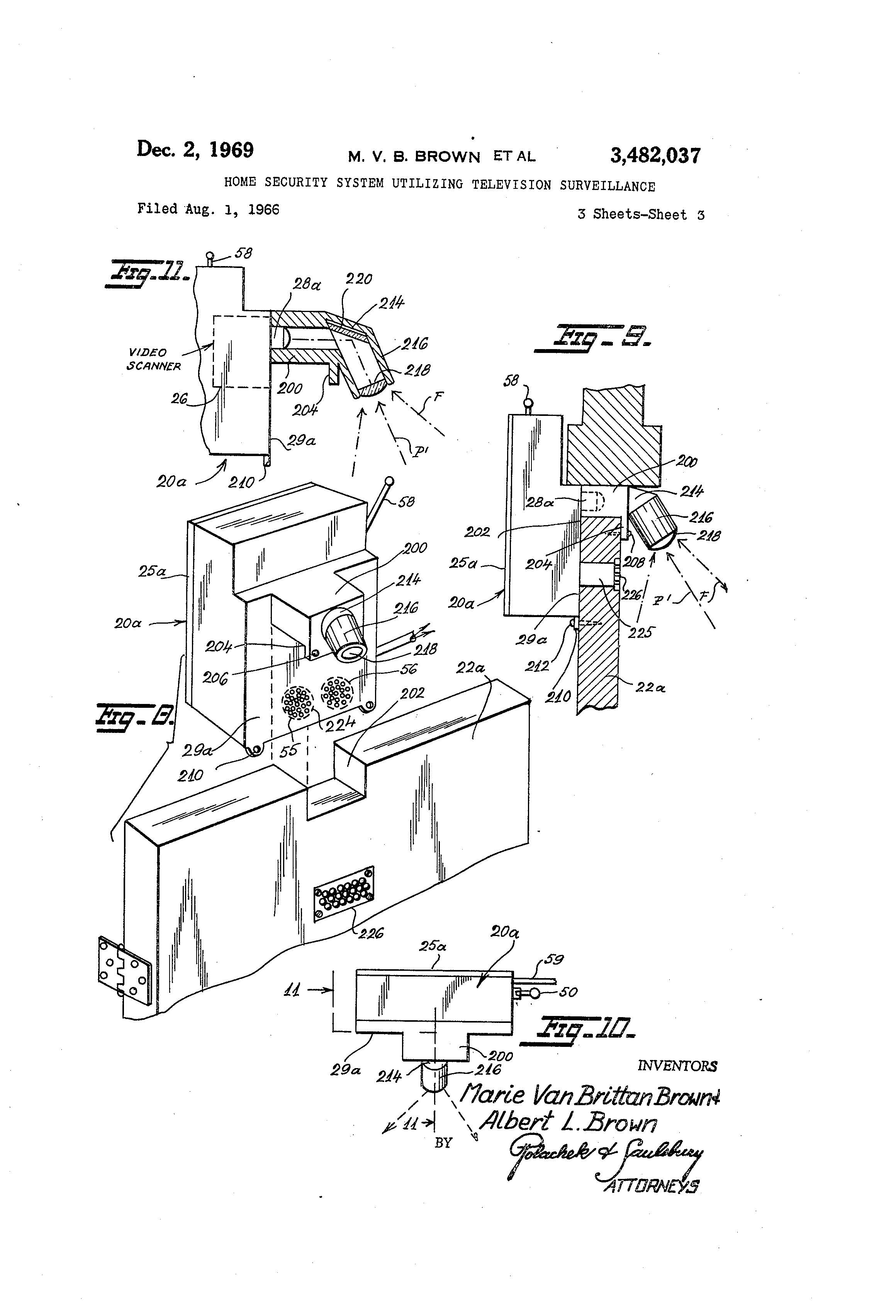 Patent of the Day: Home Security System Utilizing