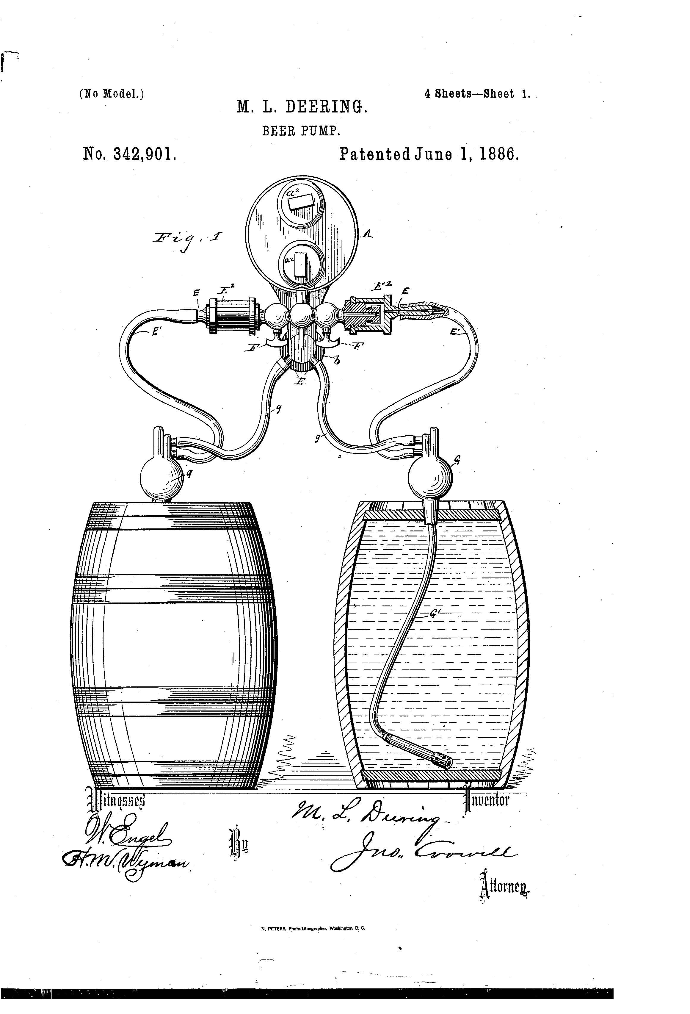 Patent Of The Day Beer Pump