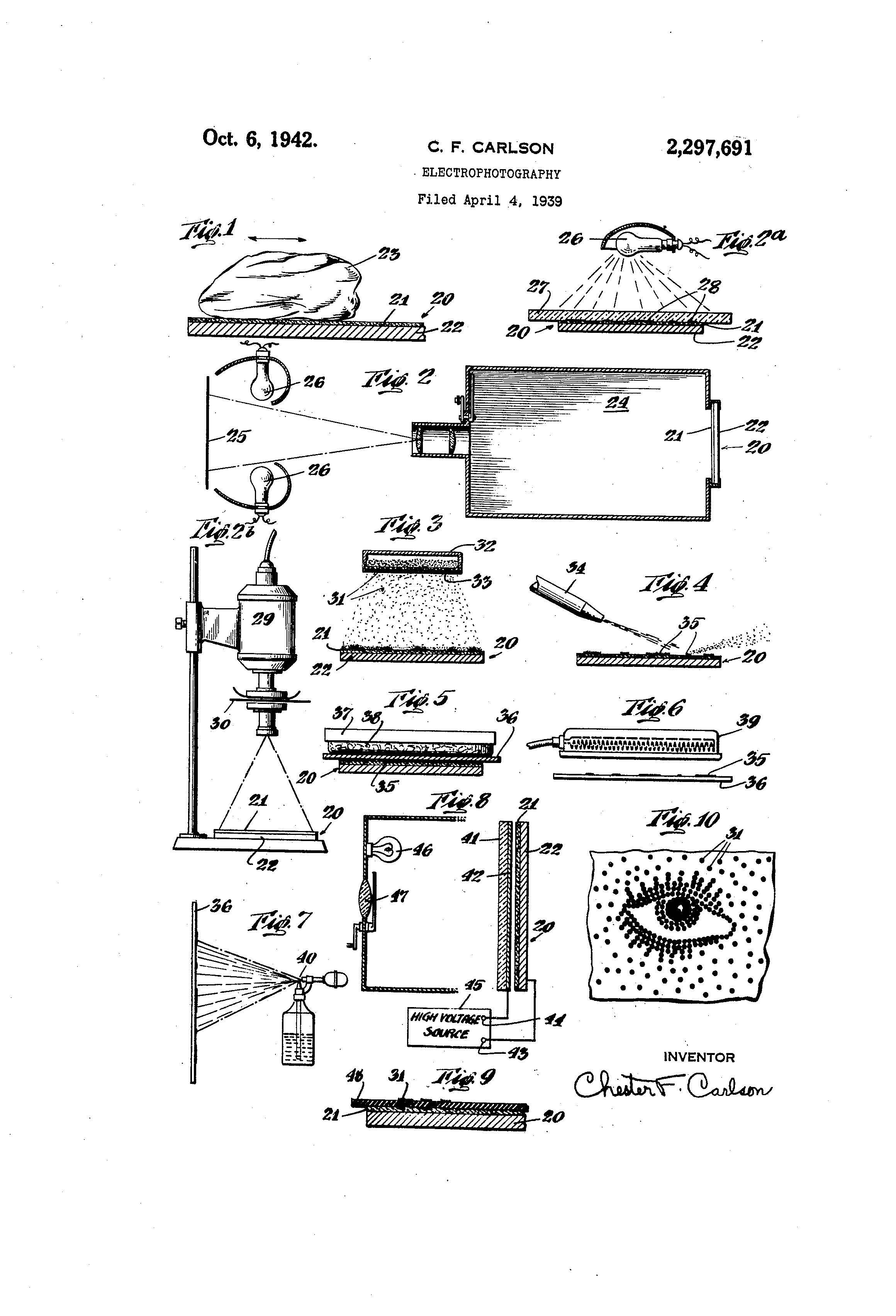 Patent Illustration Electrophotography