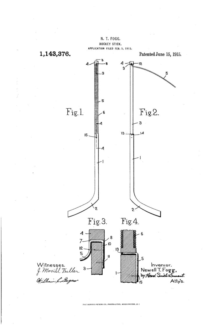 Patent of the Day: Hockey Stick