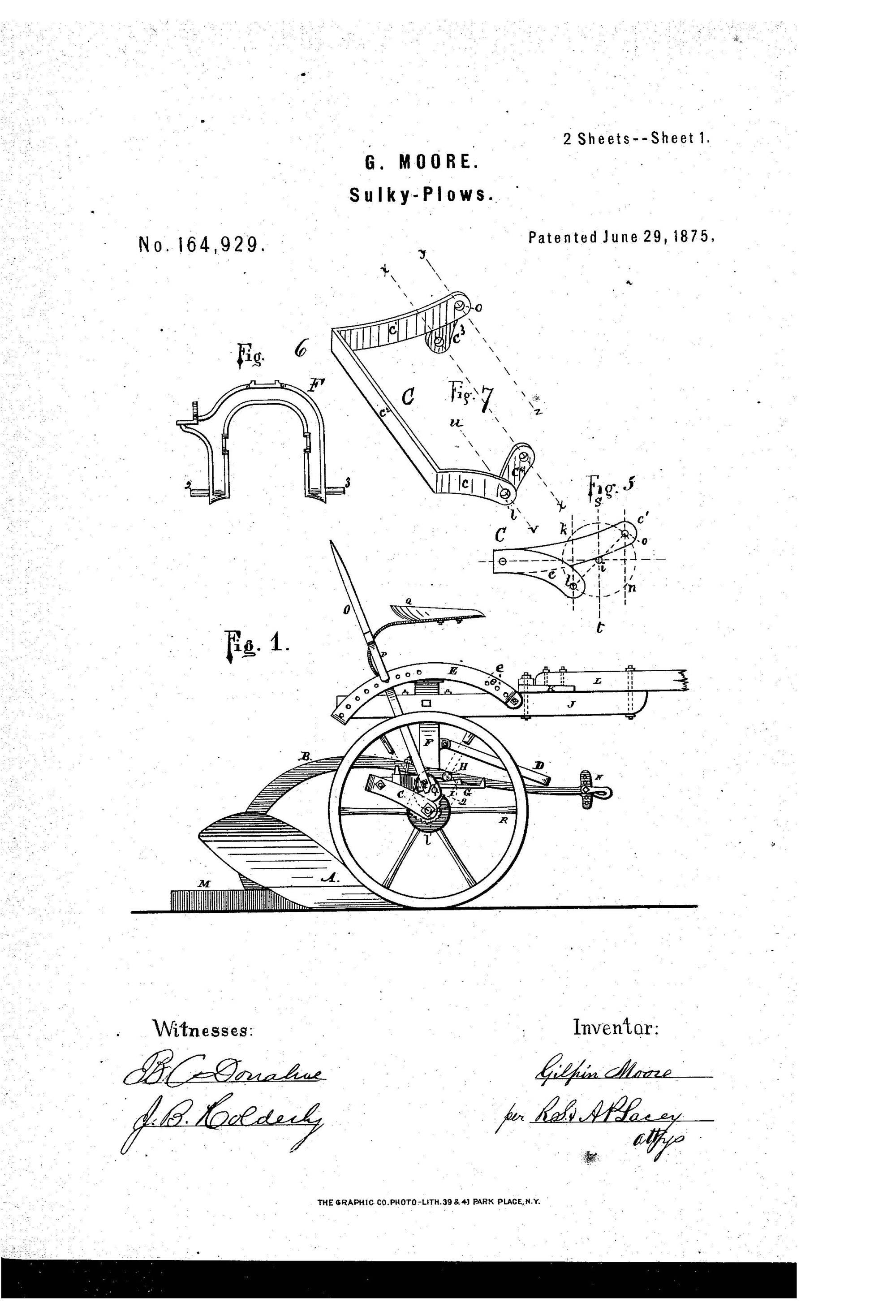 hight resolution of john deere s history began in 1837 in grand detour illinois when john deere created a polished steel plow that allowed for farmers to cut clean furrows in