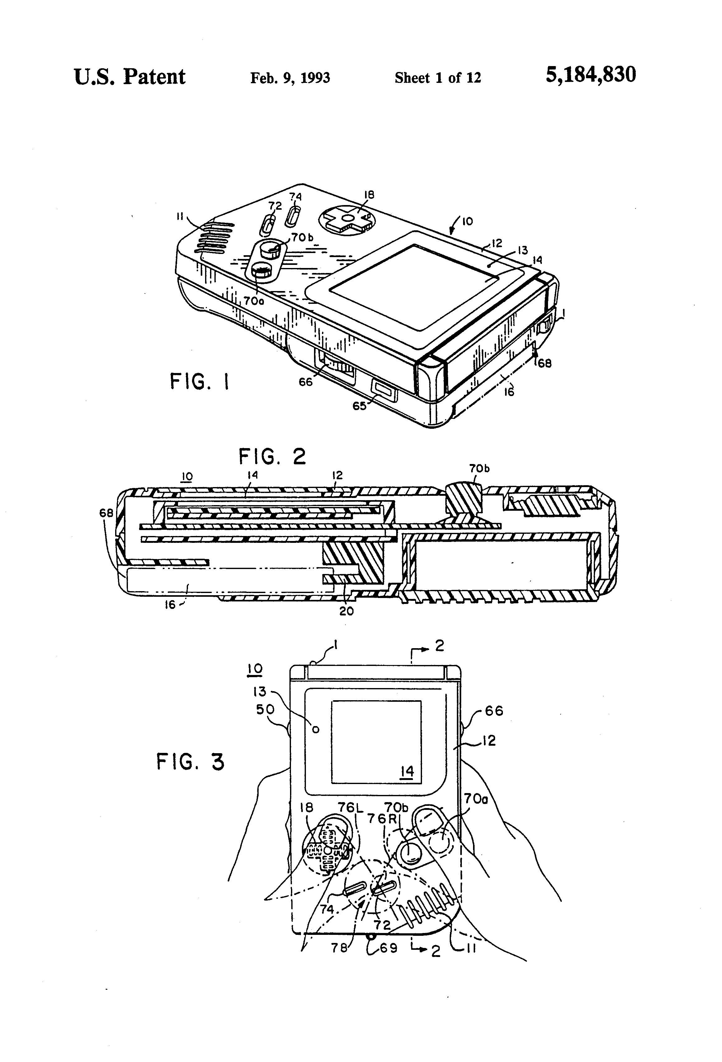 Patent of the Week: Compact Hand-Held Video Game System