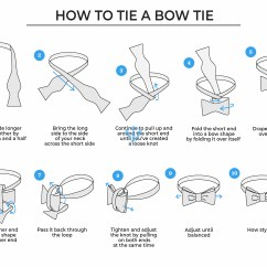 How To Tie A Bow Step By Diagram Wire Relay Men S Ties Complete Guide Suits Expert
