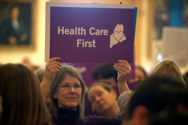 MEDICAID EXPANSION: Support bill to fund Medicaid expansion