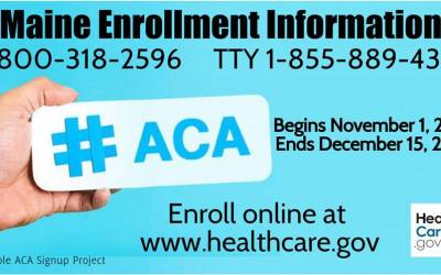ACA OPEN ENROLLMENT: Spread The Word!